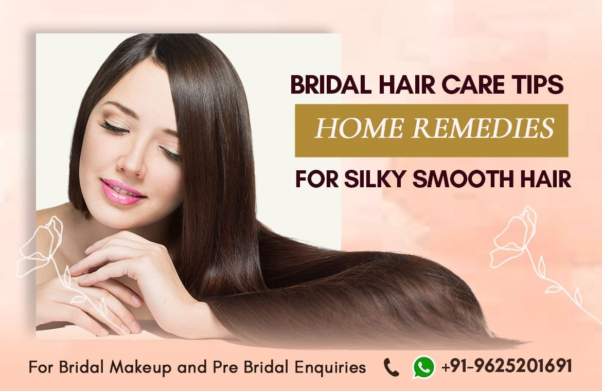 Bridal hair care tips home remedies for silky smooth hair