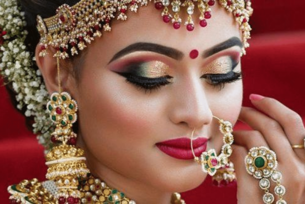 Bridal Eye Makeup Look