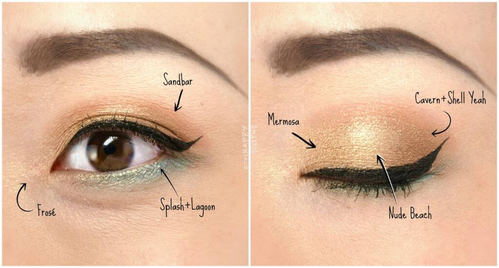 nude eye makeup
