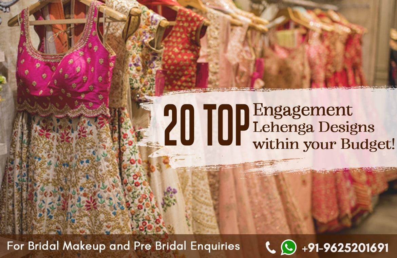 20 Top Engagement Lehenga Below 5k – Top Designs within your budget!