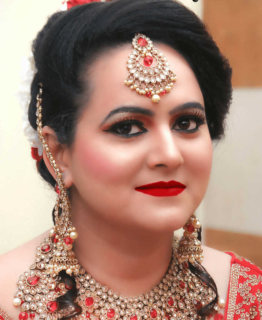Meribindiya Bridal Makeup