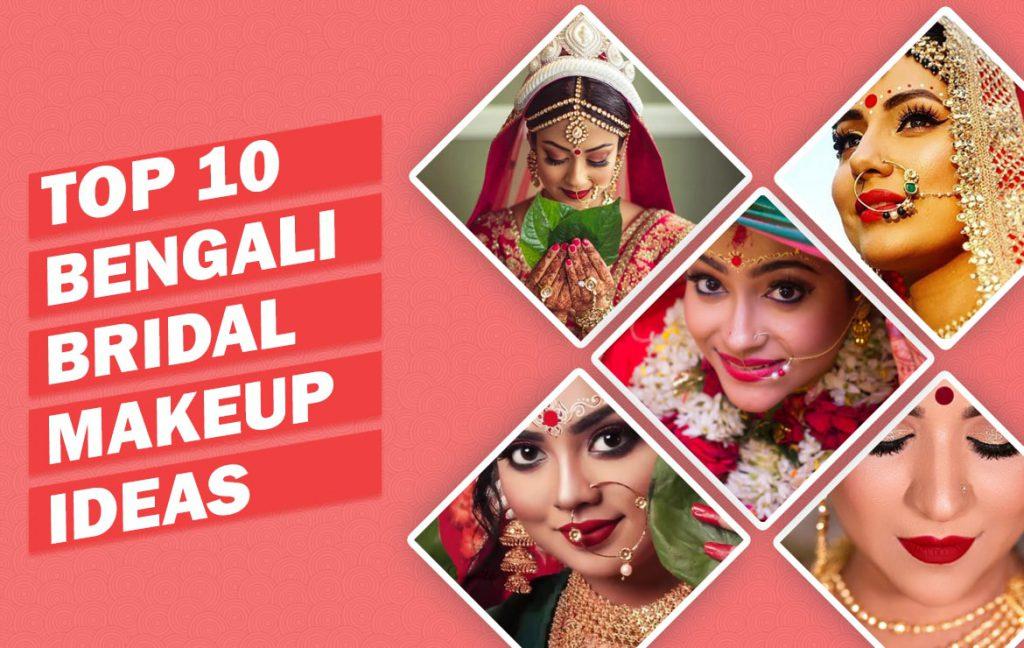 Bangali Bridal Makeup ideas