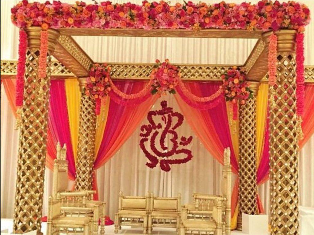 South Indian style mandap