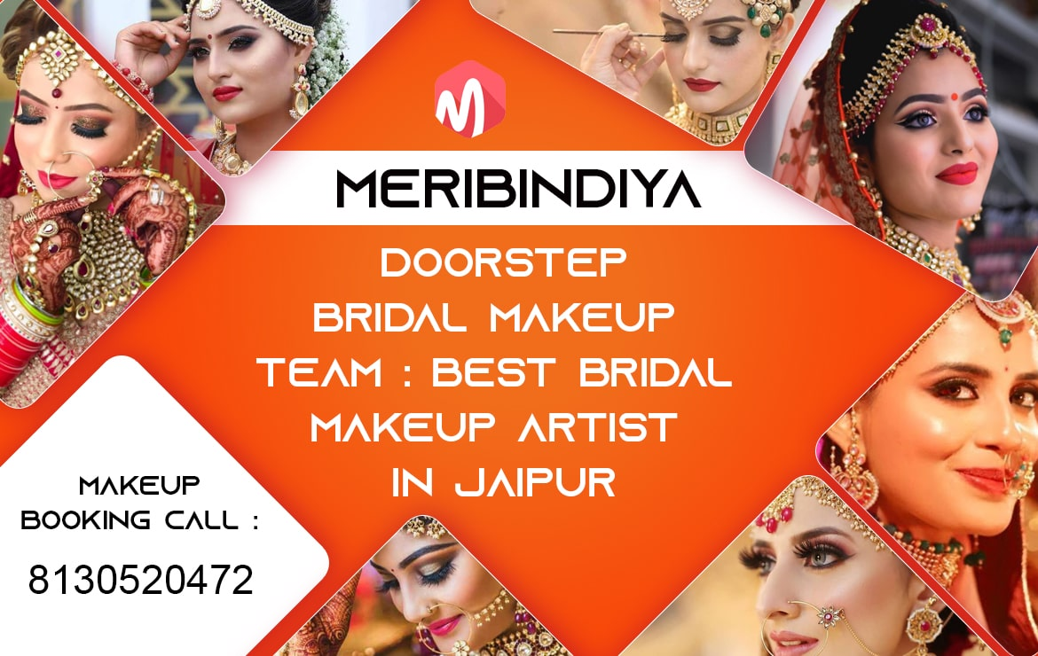 Best Freelance Makeup Artist in Jaipur | Meribindiya – Makeup Artist Team