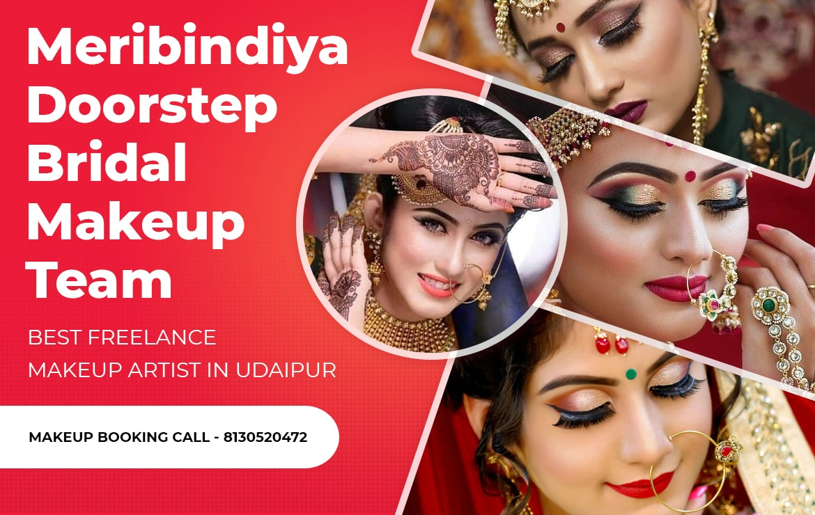 Best Freelance Makeup Artist In Udaipur: Meribindiya – Makeup Artist Team
