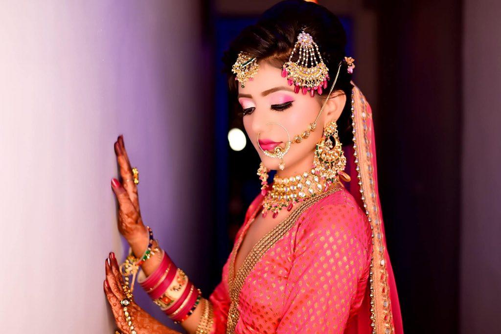 Bridal Makeup done by meribindiya team