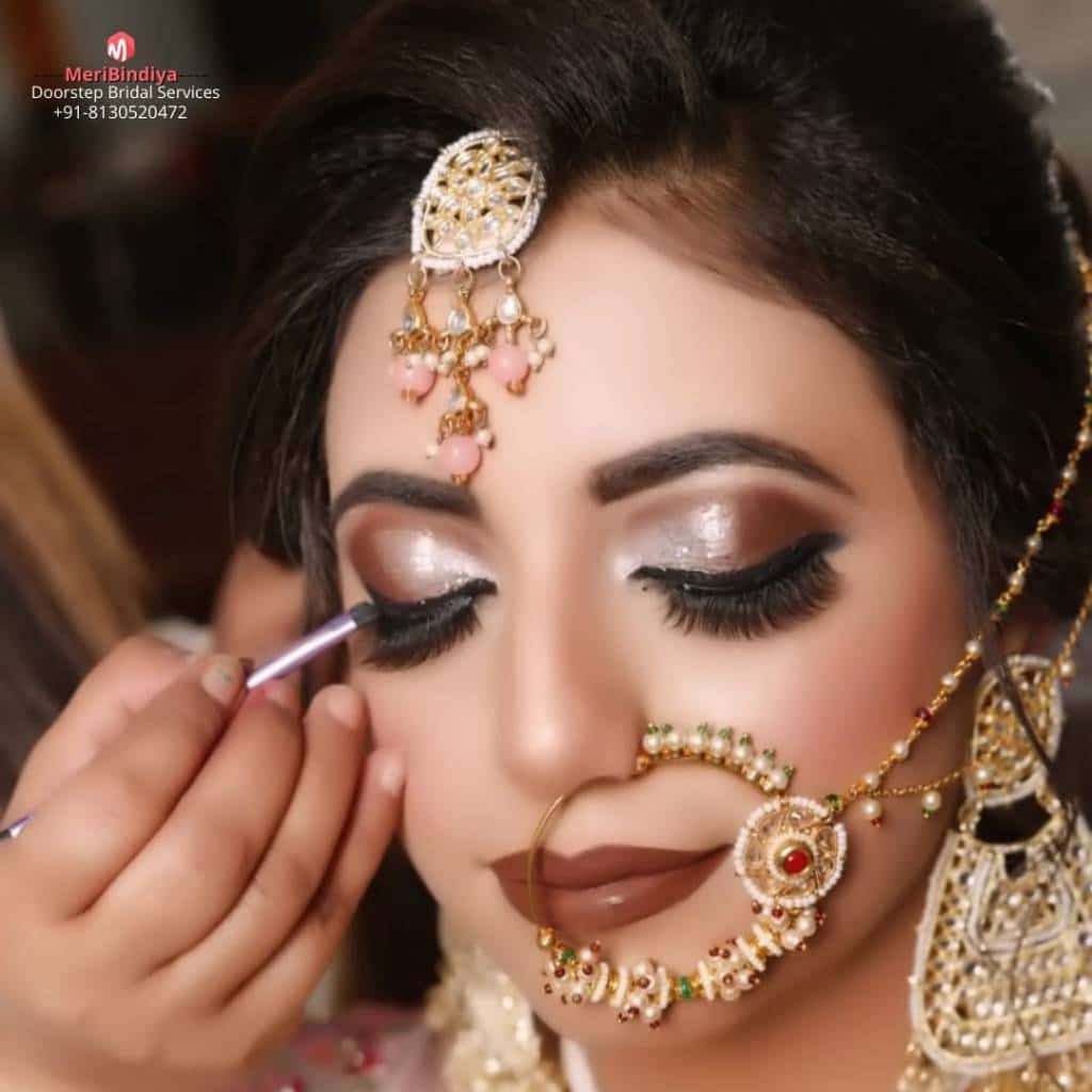 Bridal Makeup done by meribindiya team