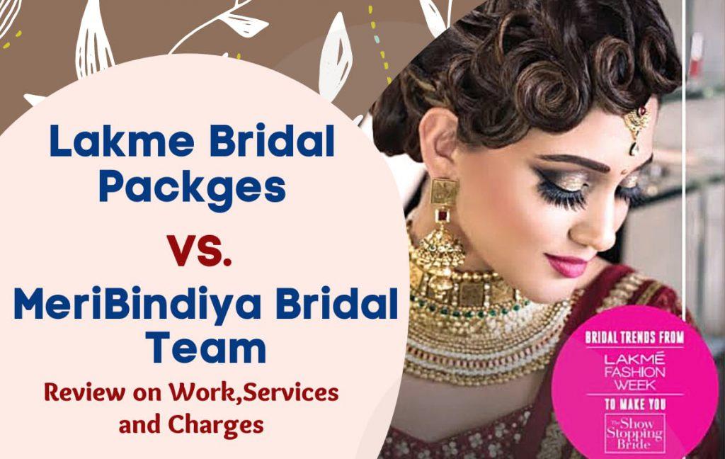 lakme bridal makeup price