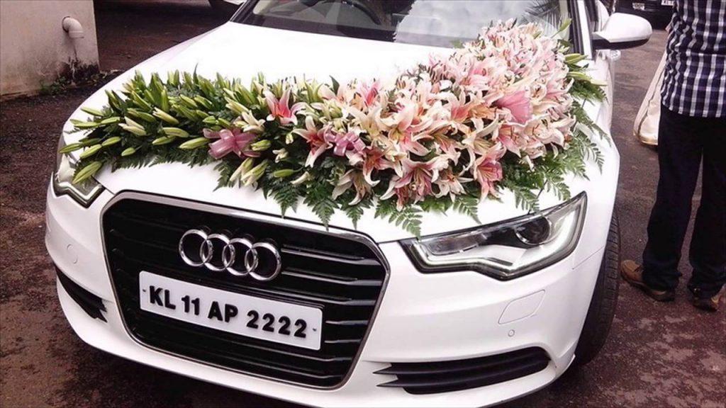 marriage car decoration